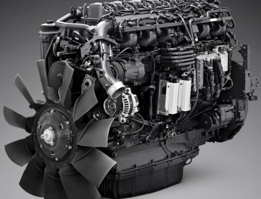 ScaITT presents SCANIA's OC13 gas engine